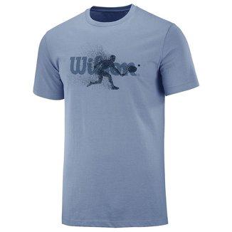 Camiseta Advantage Azul - Wilson