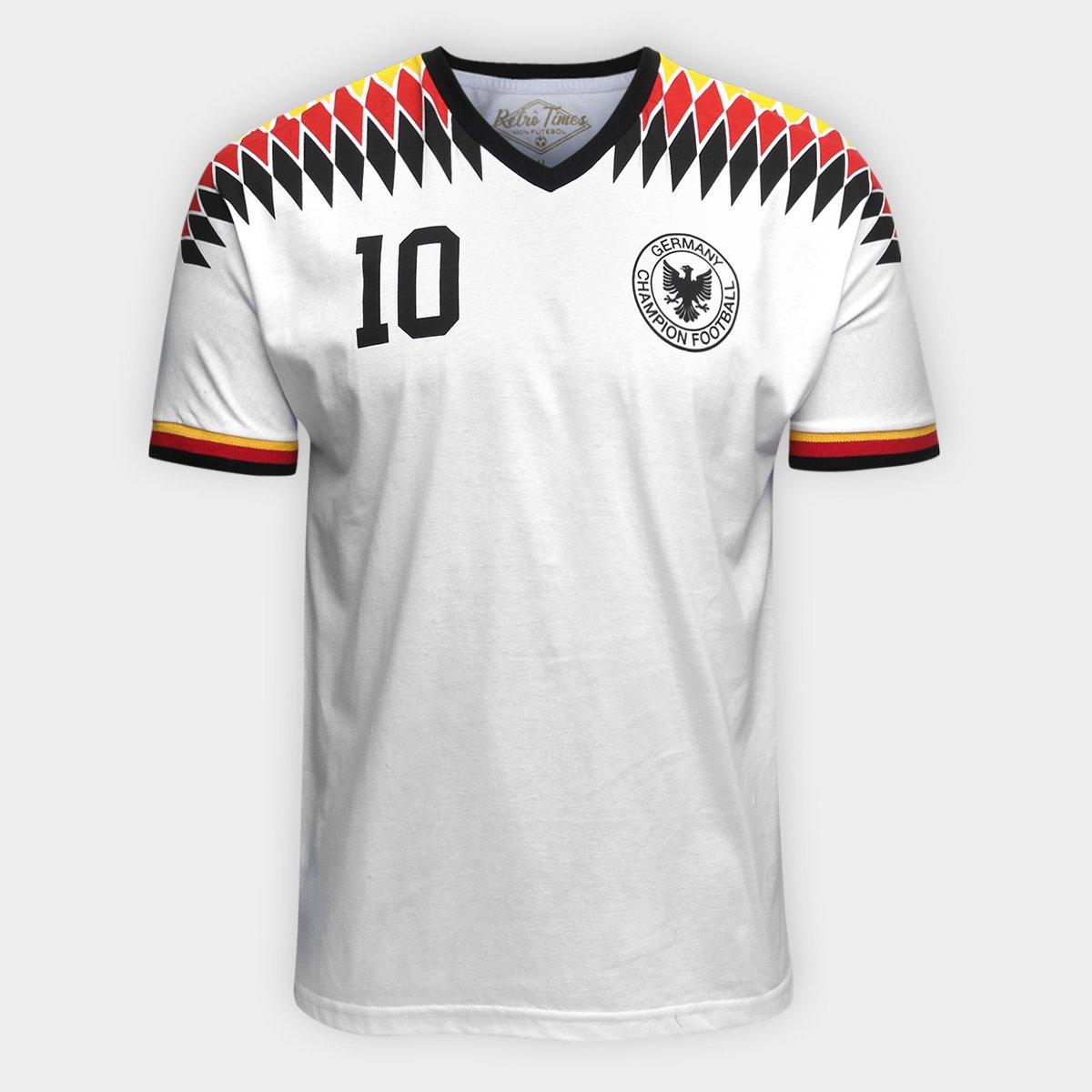 bb58f1df2ffca Camiseta Alemanha 1994 Retro Times Masculina - Compre Agora