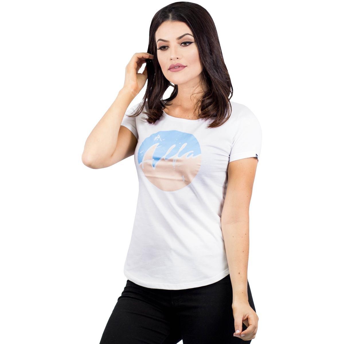 Stripe Camiseta Candy Branco Camiseta Alfa Alfa wOz8qxOYn