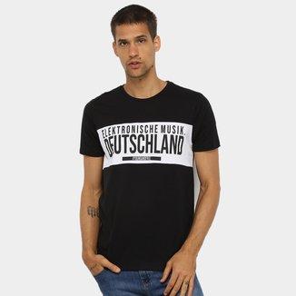 Camiseta All Free Elektronische Musik Masculina