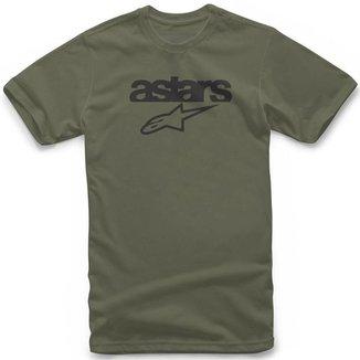 Camiseta Alpinestars Heritage Blaze Verde - P