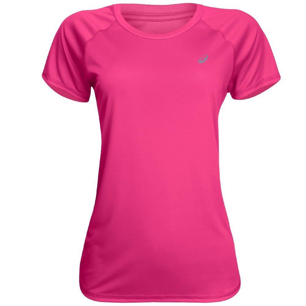 Core Feminina Asics Pes Camiseta SS Camiseta Tee Pink Asics IqtgOO ... b01a01fe8192d
