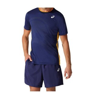 Camiseta ASICS Graphic - Masculino - Azul Marinho - tam: PP Asics
