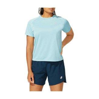Camiseta ASICS Icon - Feminino - Azul - tam: P Asics