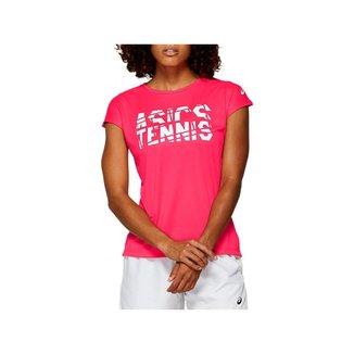 Camiseta Asics Short Sleeve Feminina