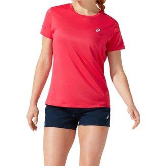 Camiseta ASICS Silver - Feminino - Rosa - tam: GG Asics
