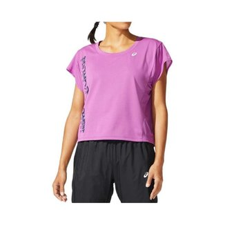 Camiseta ASICS SMSB Run - Feminino - Lilás - tam: P Asics