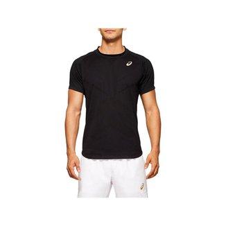 Camiseta ASICS Tennis - Masculino - Turquesa - tam: M Asics