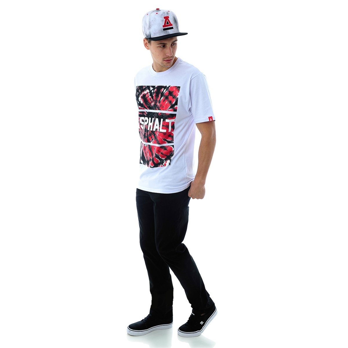 Camiseta Swirl Asphalt Camiseta Branco Tie Asphalt 5q8gv