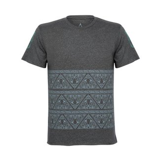 Camiseta Assassin's Creed Nordic Masculina Cinza