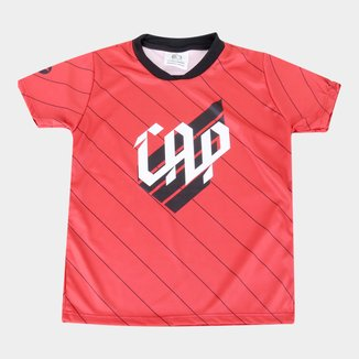 Camiseta Athletico Paranaense Infantil Torcida Baby Sublimada