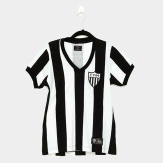 Camiseta Atlético Mineiro Retrô 1950 Feminina