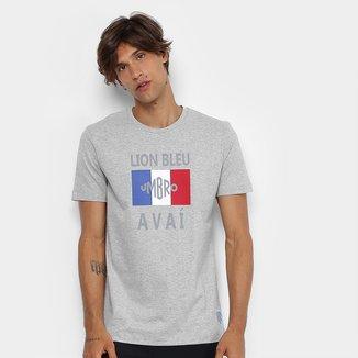 Camiseta Avaí Lion Bleu Umbro Masculina