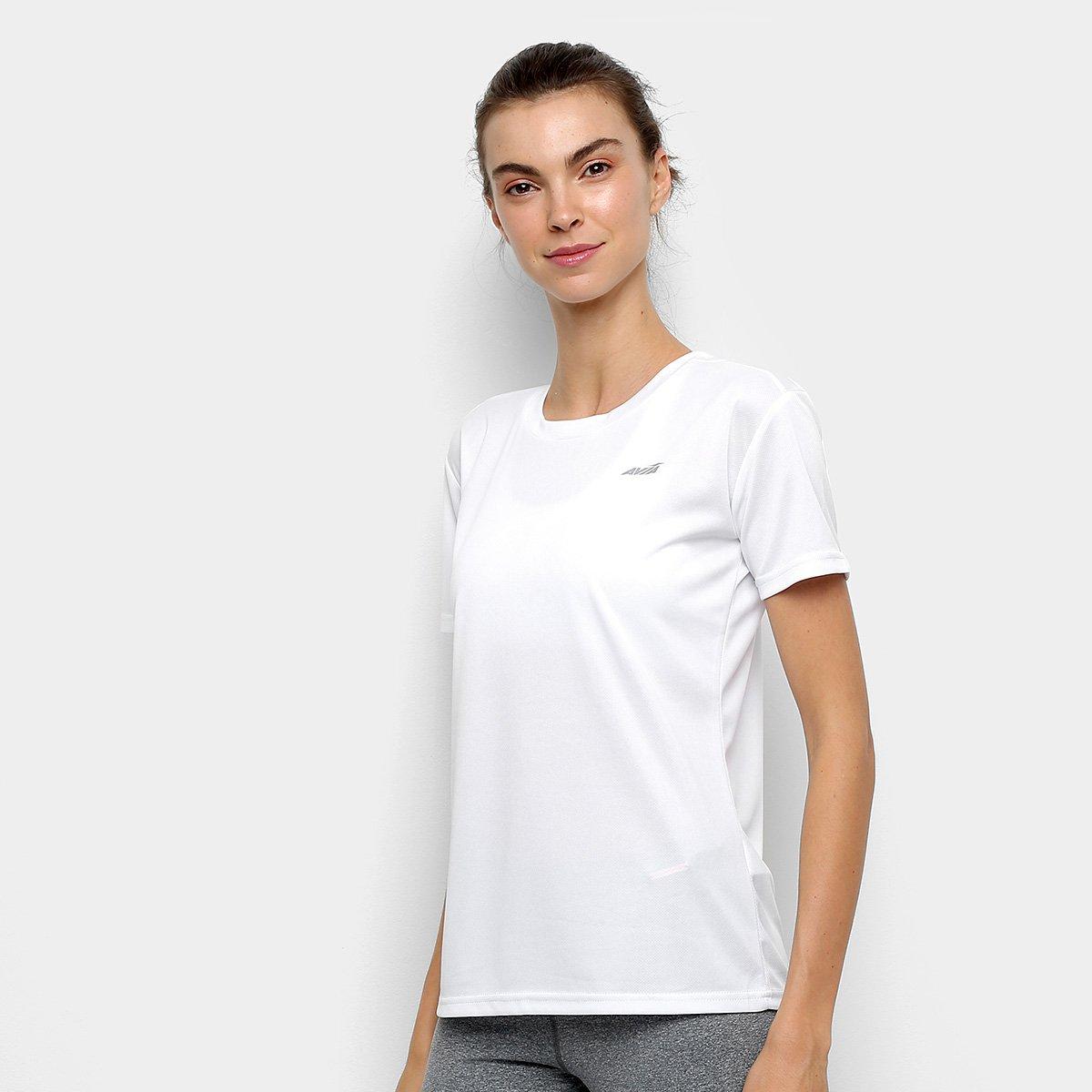 Camiseta Avia Marie Feminina - Branco - Compre Agora  7e44c068018