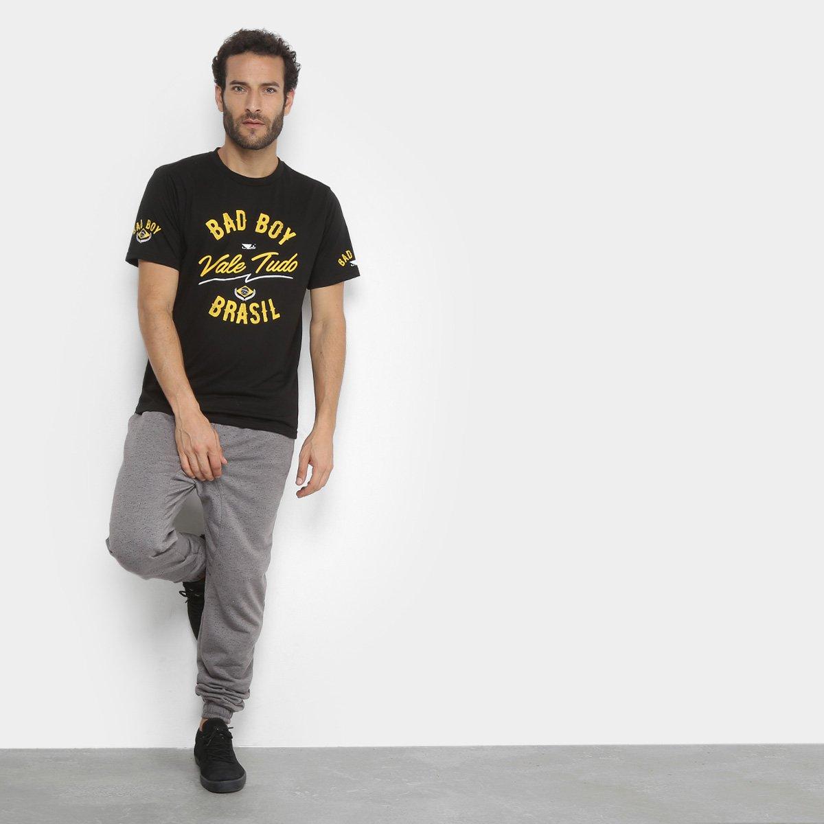 Camiseta Bad Boy Vale Tudo Sp Masculina - Preto - Compre Agora ... 907f0f25afb