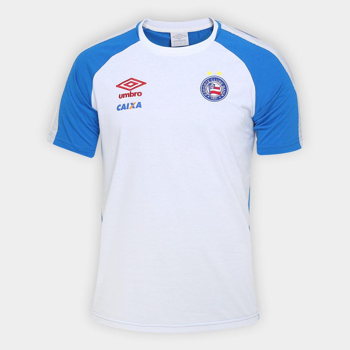 Camiseta Bahia Umbro Concentração 17 18 Masculina dc061dce81c6b