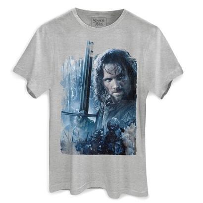 Camiseta Bandup O Senhor dos Anéis As Duas Torres - Masculino