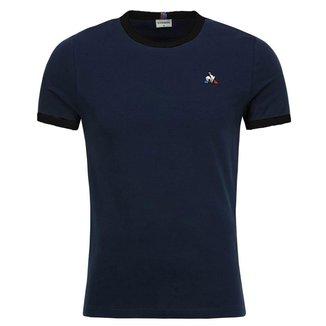 Camiseta Bar A Tee Ess Tee SS N.4 Azul - Le Coq Sportif