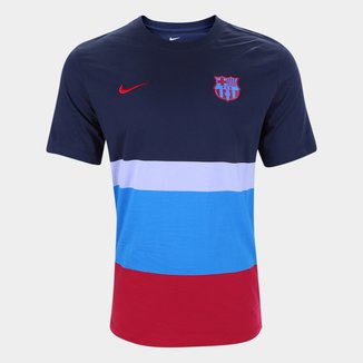 Camiseta Barcelona Nike Voice Masculina