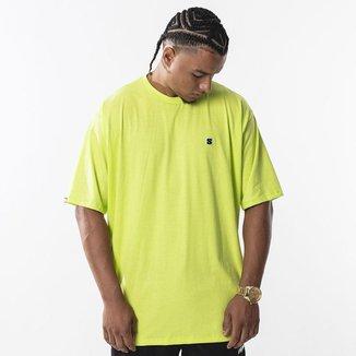 Camiseta Basic Patch Neon Green