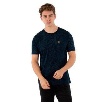 Camiseta Básica Masculina Com Aplique No Stress - CINZA - M