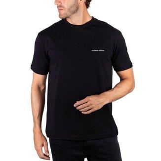 Camiseta Basica Nicoboco Rufflet - Preto (107128) Camiseta Basica Nicoboco Rufflet - P