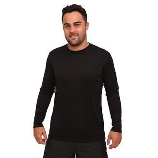 Camiseta Básica Proteção Solar Unissex Manga Longa