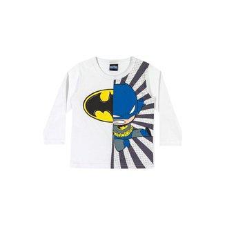 Camiseta Bebê Batman Kely & Kety Masculina