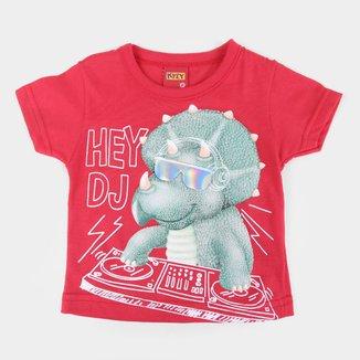Camiseta Bebê Kyly Hey DJ Masculina