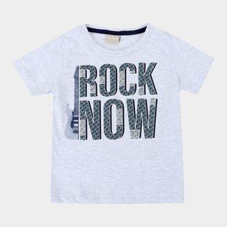 Camiseta Bebê Milon Rock Now Masculina