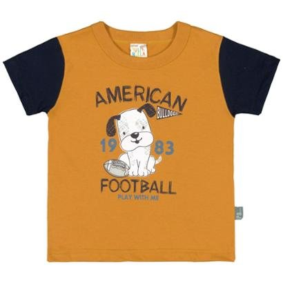 Camiseta Bebe Pulla Bulla Meia Malha Masculina