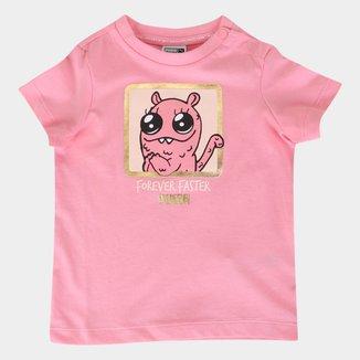 Camiseta Bebê Puma Monster