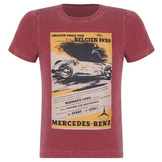 Camiseta Belgien 1939 Infantil Vintage Mercedes-Benz