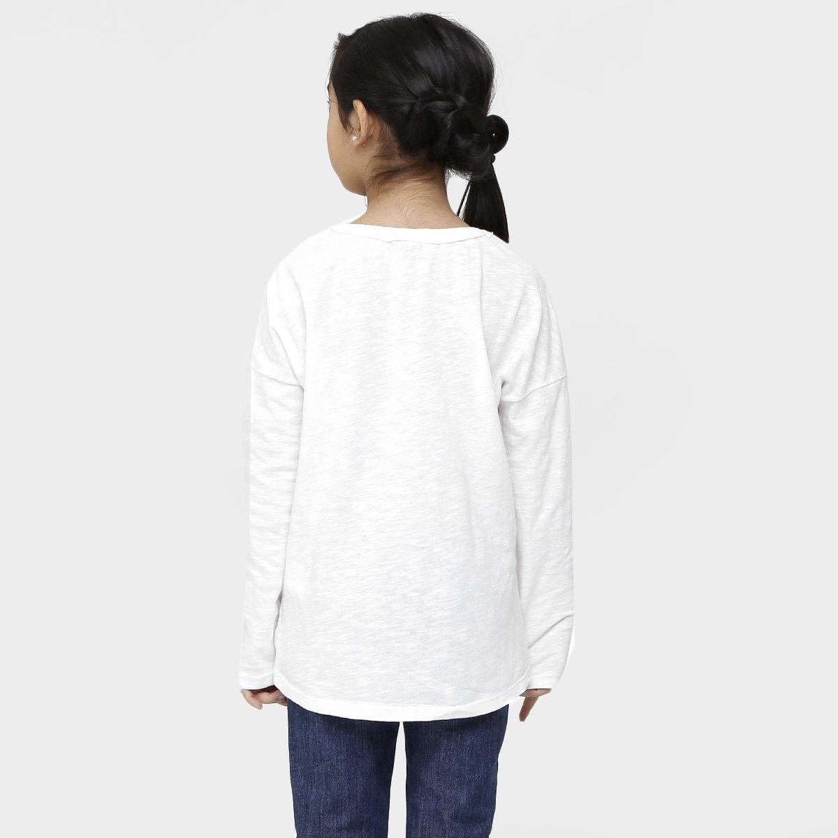 Estampada Camiseta Camiseta Estampada White Infantil Benetton Benetton Off Infantil c6HqHXU
