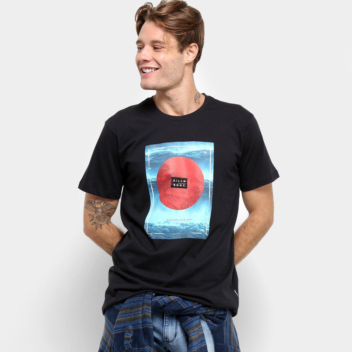 Camiseta Billabong Caravan - Masculina - Preto - Compre Agora  785fce91294