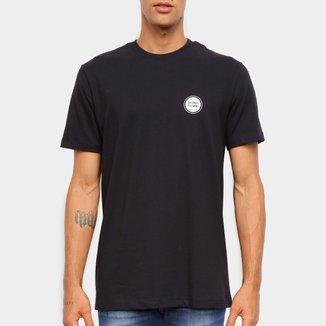 Camiseta Black Pack NBA Detroit Pistons New Era Logo Shield Masculina