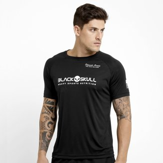 Camiseta Black Skull Dry Fit