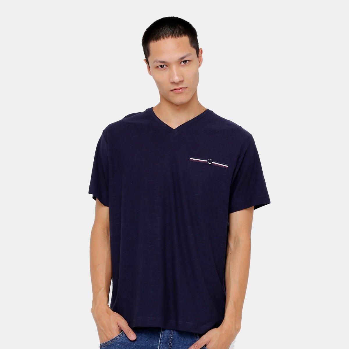 7c2eef1108 Camiseta Blue Bay Flamê Básica Masculina - Compre Agora
