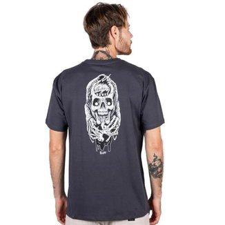 Camiseta Blunt Factory Masculina Caveira Estampada