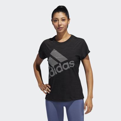 Camiseta Bos Logo W Adidas Feminina