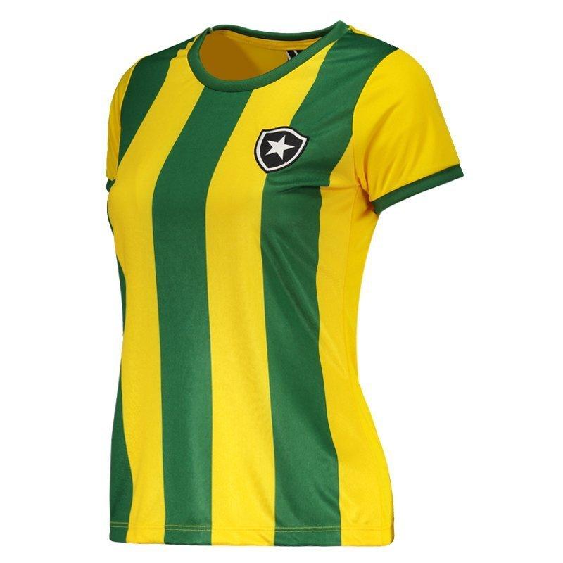 3a677d7e2f Camiseta Botafogo Brasil Feminina  Camiseta Botafogo Brasil Feminina ...