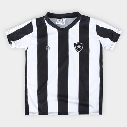 Camiseta Botafogo Infantil Torcida Baby Sublimada