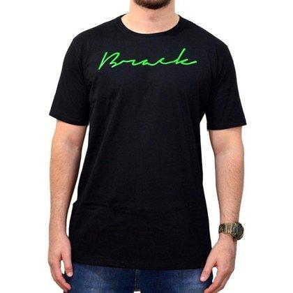 Camiseta Brack Script /Verde