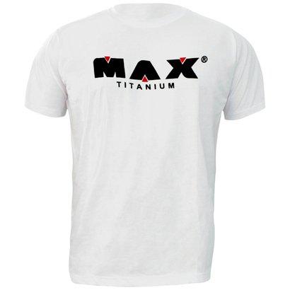 Camiseta Branca – Max Titanium
