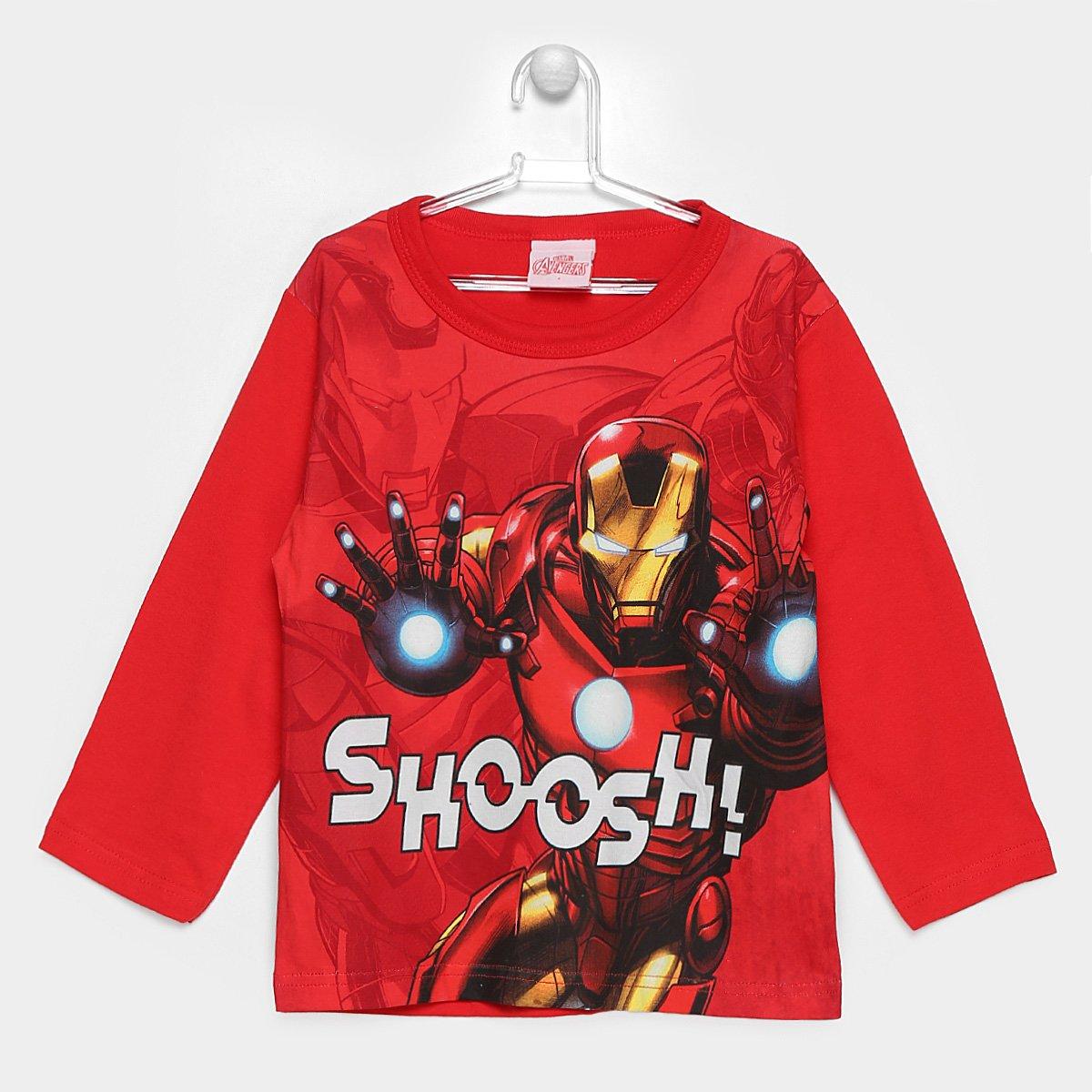 afc495cc90 Camiseta Brandili Marvel Homem De Ferro Infantil - Compre Agora ...