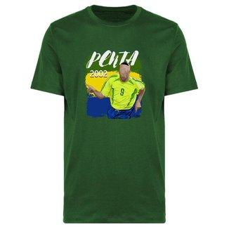 Camiseta Brasil Penta Fenomenal 2002
