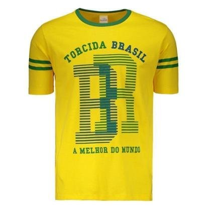 Camiseta Braziline Brasil São Francisco