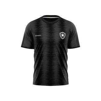 Camiseta Braziline M/C Botafogo Part Infantil - Chumbo - 10