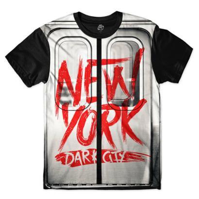 Camiseta BSC Nova Iorque Metrô Sublimada Masculina