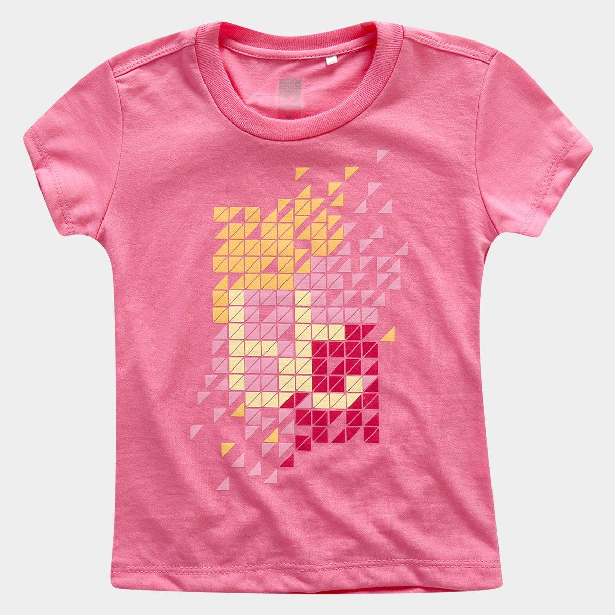 Camiseta Rosa Infantil Outfit Camiseta Bodytech Bt Bt Basic dpROdZ